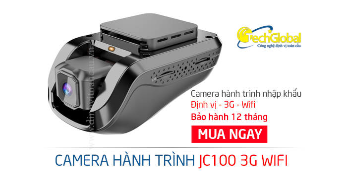 Camera hành trình ôtô JC100 3G Wifi