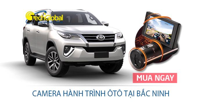 Lắp đặt camera hành trình tại Bắc Ninh giá rẻ cho ô tô