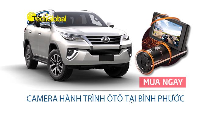 Lắp đặt camera hành trình tại Bình Phước cho ô tô giá rẻ