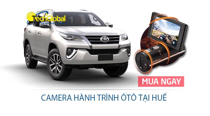 Lắp camera hành trình tại Thừa Thiên Huế chính hãng cho xe ô tô