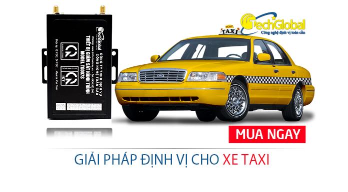 Giải pháp định vị cho xe taxi chuyên nghiệp và hiệu quả nhất hiện nay