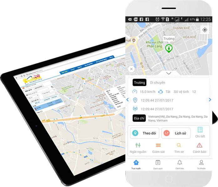 Phần mềm quản lý giám sát hành trình xe trực tuyến của Techglobal cung cấp