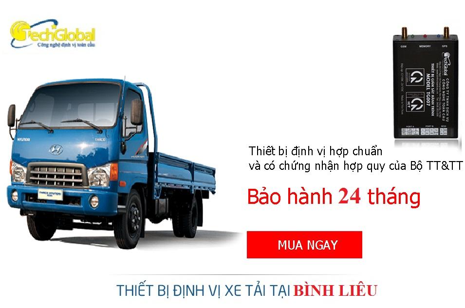 Lắp thiết bị định vị xe tải tại Bình Liêu Quảng Ninh