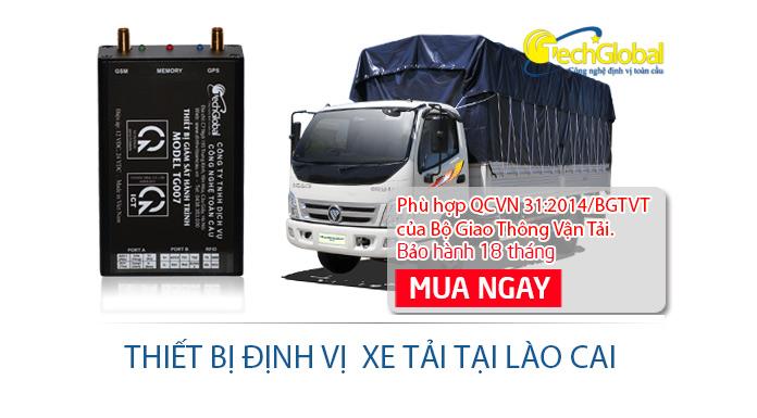 Lắp đặt thiết bị định vị xe tải tại Lào Cai chất lượng giá rẻ