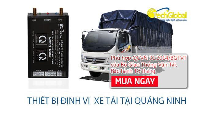Lắp thiết bị định vị xe tải tại Đông Triều Quảng Ninh