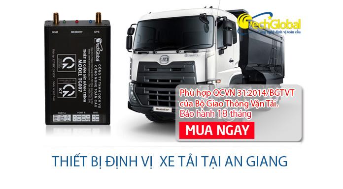 Lắp đặt thiết bị định vị xe tải tại An Giang