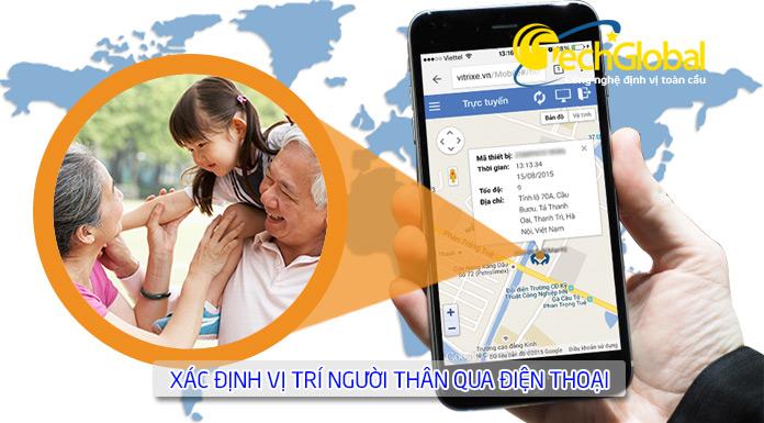 Giải pháp quản lý người già và trẻ nhỏ bằng thiết bị định vị do Techglobal cung cấp