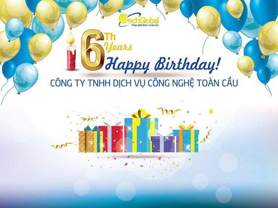 Khuyến mại mừng sinh nhật 6 tuổi Techglobal
