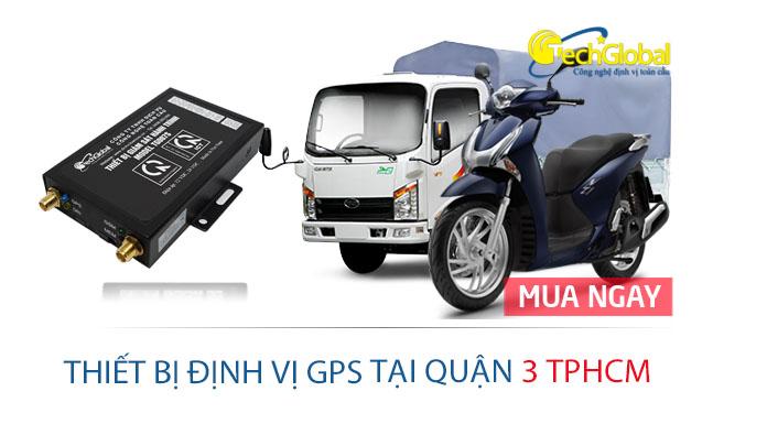 Gắn thiết bị định vị GPS tại quận 3 TPHCM cho ôtô xe máy