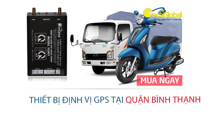 Ráp thiết bị định vị GPS tại quận Bình Thạnh TP HCM