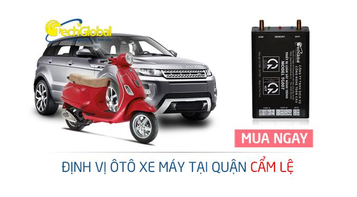 Ráp thiết bị định vị GPS tại quận Cẩm Lệ Đà Nẵng