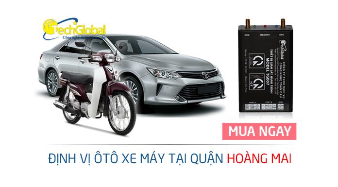 Lắp thiết bị định vị GPS tại quận Hoàng Mai chất lượng tốt giá rẻ