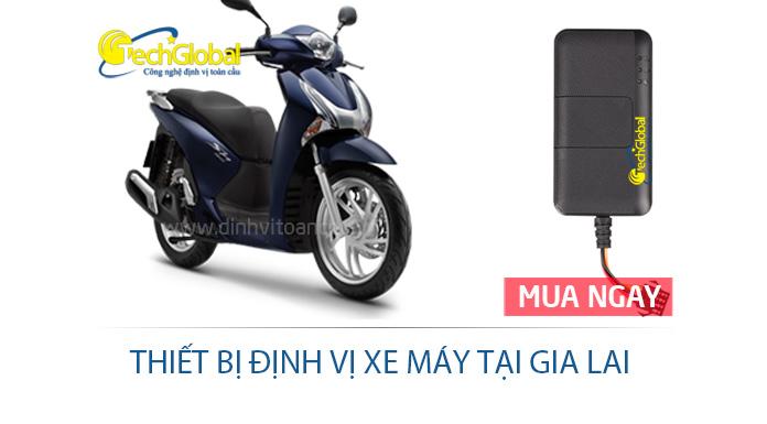 Thiết bị định vị xe máy tại Gia Lai giải pháp quản lý giám sát hành trình xe máy