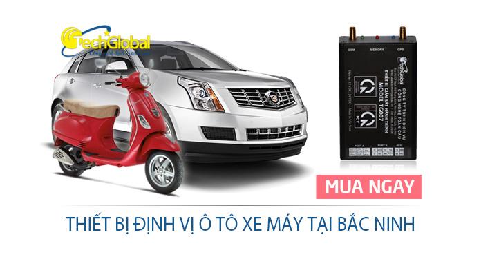 Lắp thiết bị định vị tại Bắc Ninh giá rẻ cho ô tô xe máy