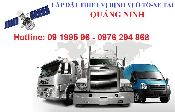 Lắp thiết bị định vị xe tải tại Uông Bí Quảng Ninh