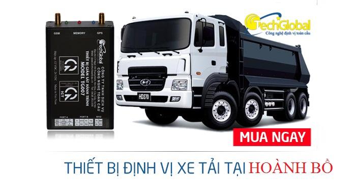 Lắp thiết bị định vị xe tải tại Hoành Bồ Quảng Ninh