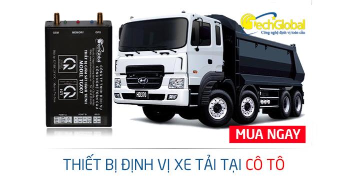 Lắp thiết bị định vị xe tải tại Cô Tô Quảng Ninh