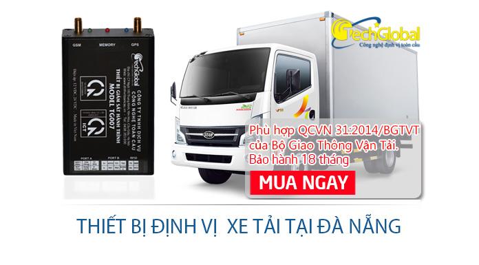 Lắp đặt thiết bị định vị xe tải tại Đà Nẵng giá rẻ