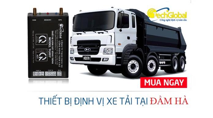 Lắp thiết bị định vị xe tải tại Đầm Hà Quảng Ninh