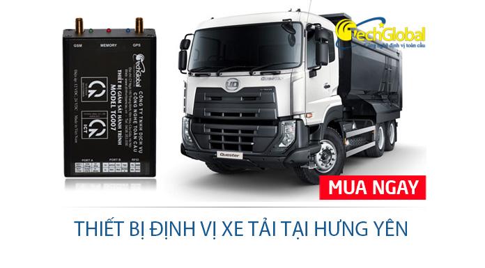 Địa chỉ lắp đặt thiết bị định vị xe tải tại Hưng Yên chất lượng