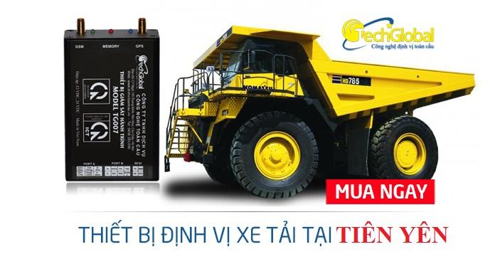 Lắp thiết bị định vị xe tải tại Tiên Yên Quảng Ninh