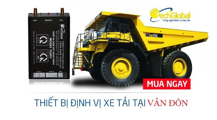 Lắp thiết bị định vị xe tải tại Vân Đồn Quảng Ninh