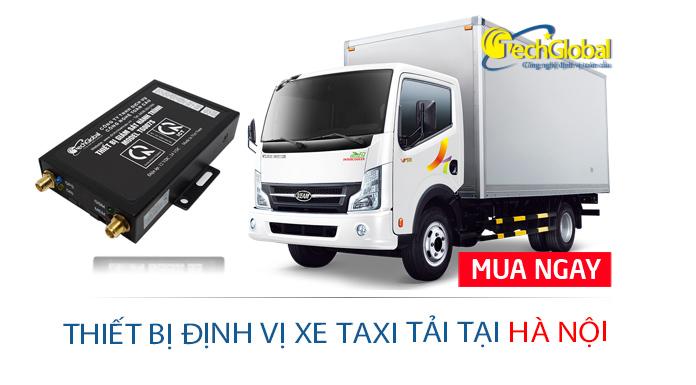 Thiết bị định vị xe taxi tải tại Hà Nội