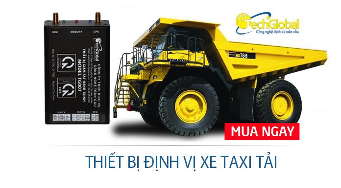 Lợi ích của lắp thiết bị định vị xe taxi tải