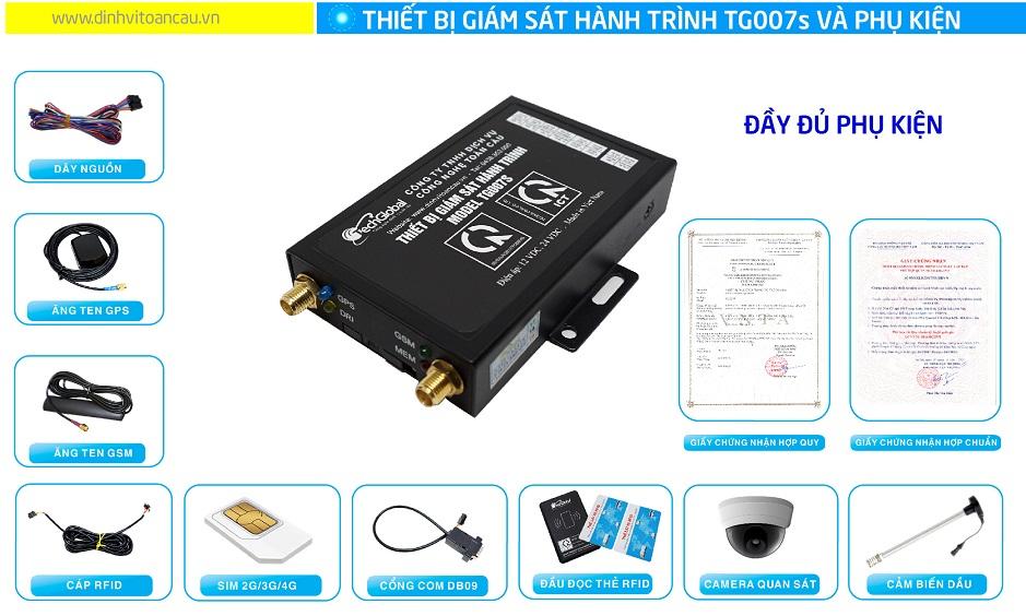 Ứng dụng của thiết bị giám sát hành trình TG007S