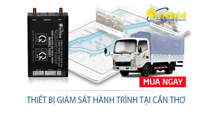 Lắp thiết bị giám sát hành trình tại Cần Thơ cho xe tải