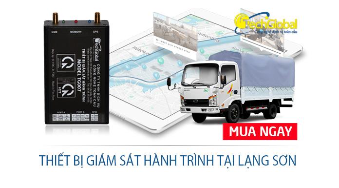 Lắp thiết bị giám sát hành trình tại Lạng Sơn