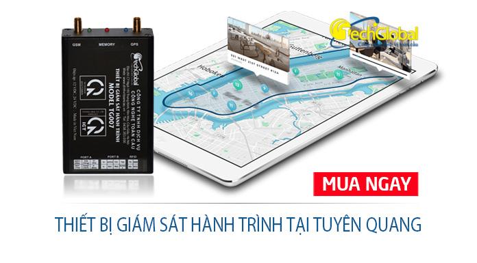 Lắp thiết bị giám sát hành trình tại Tuyên Quang