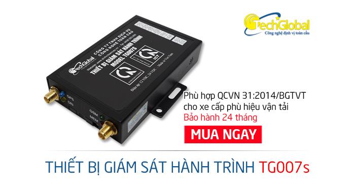 Địa chỉ mua thiết bị giám sát hành trình TG007S