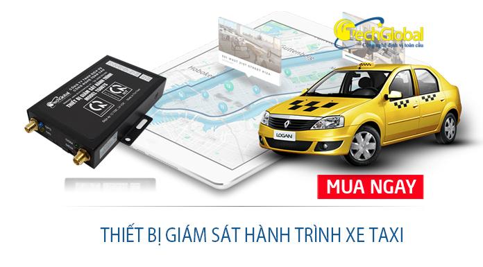 Thiết bị giám sát hành trình xe taxi hợp chuẩn BGTVT quy định