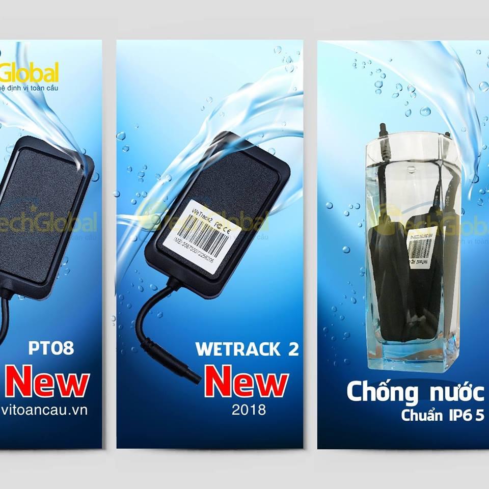 Thiết bị định vị của Techglobal cung cấp có khả năng chống nước cao