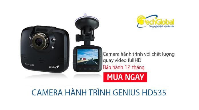 Camera hành trình ô tô Genius HD535