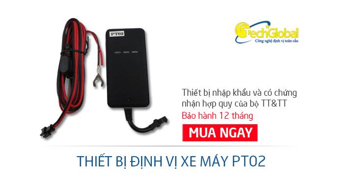 Thiết bị định vị PT02 - Hợp quy GSM