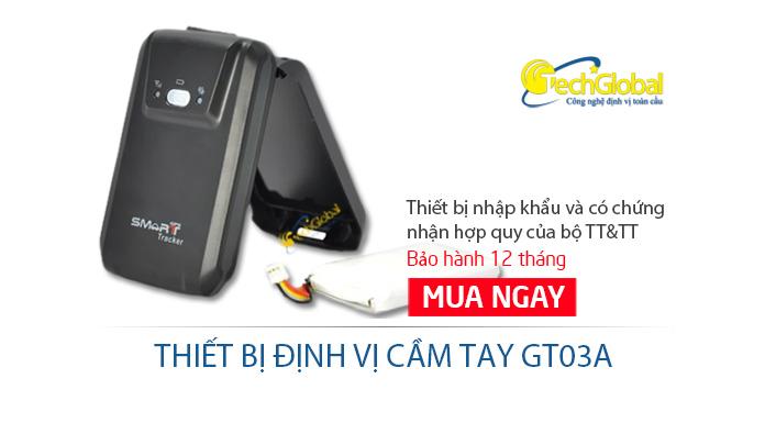 Thiết bị định vị cầm tay GT03A