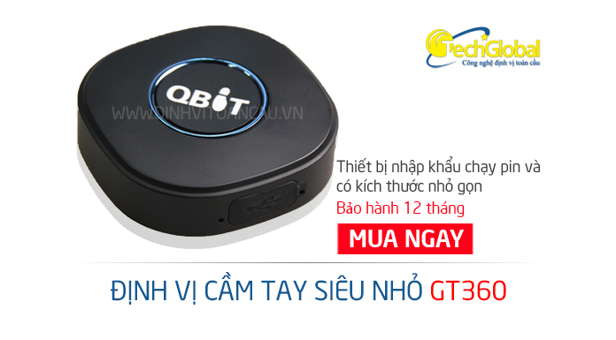 Thiết bị định vị cầm tay mini GT360 siêu nhỏ gọn