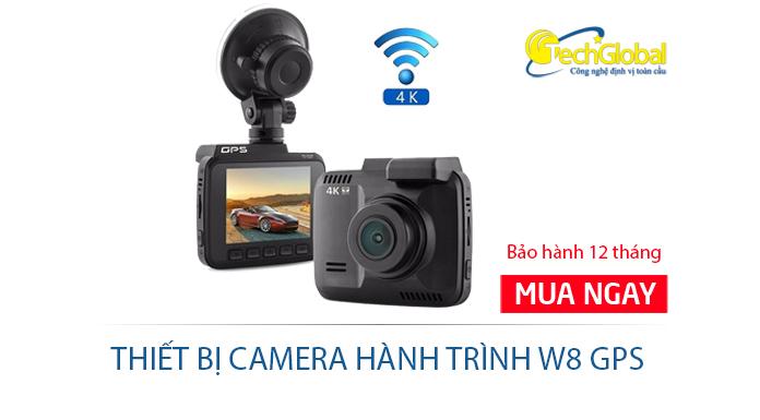 Camera hành trình W8 Wifi 4K GPS cao cấp