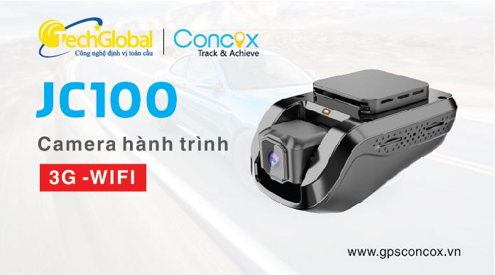 Camera hành trình JC100 3G và theo dõi GPS