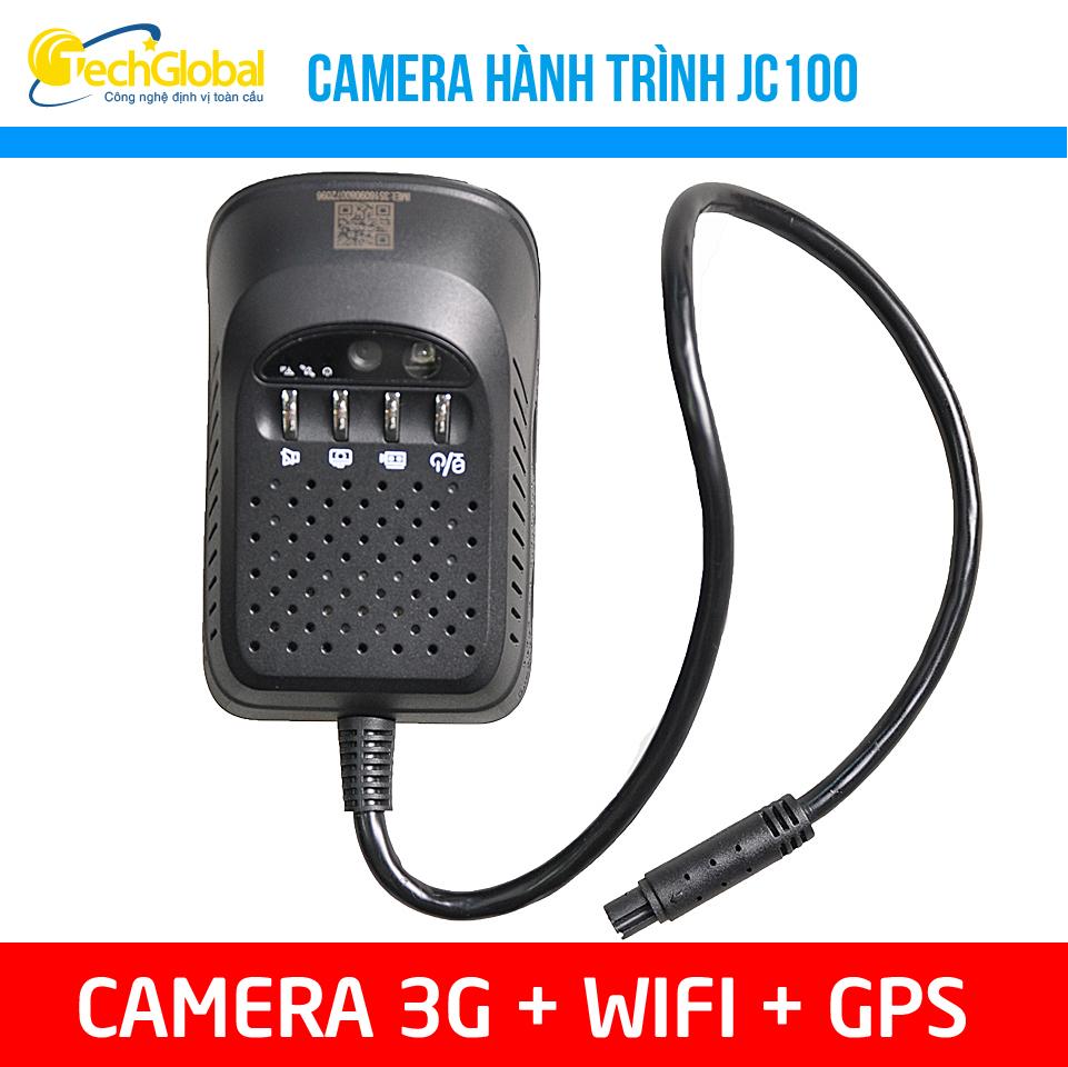 Camera hành trình JC100 kết nối Wifi và 3G