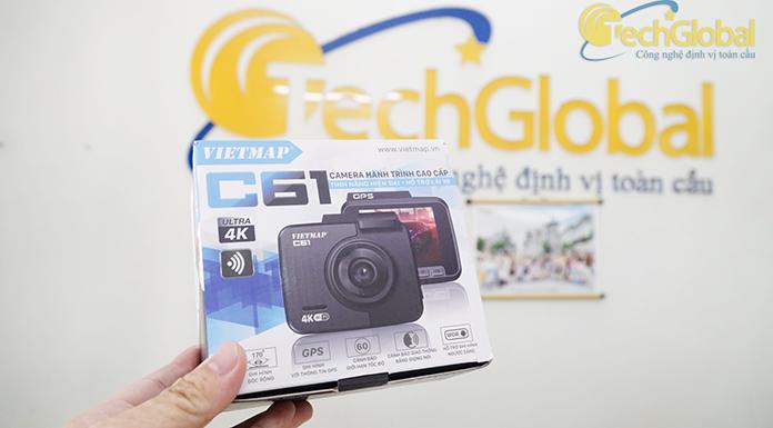 Camera hành trình C61 Vietmap cao cấp cho xe ô tô