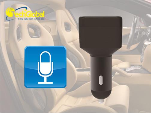 thiết bị định vị ô tô TGB001 có thể ghi âm âm thanh xung quanh