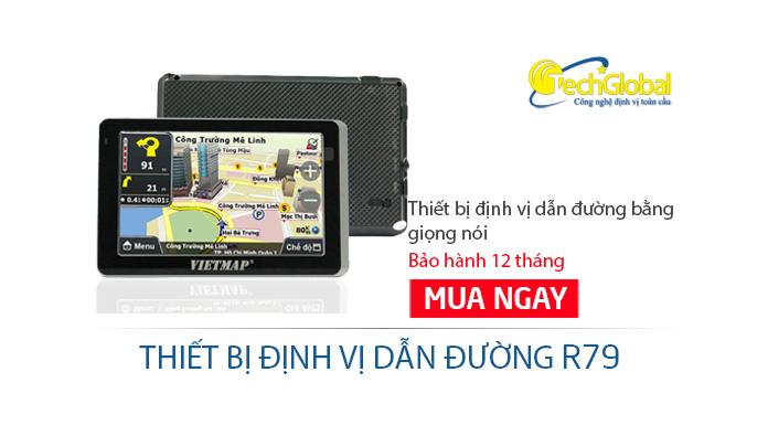 Thiết bị dẫn đường GPS R79