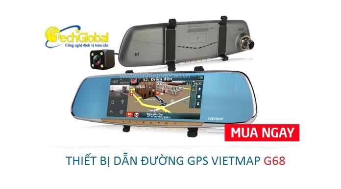 Thiết bị dẫn đường G68 GPS cao cấp