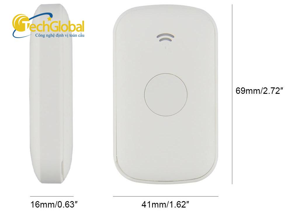 Thiết bị định vị cầm tay Q2 chính hãng do Techglobal cung cấp