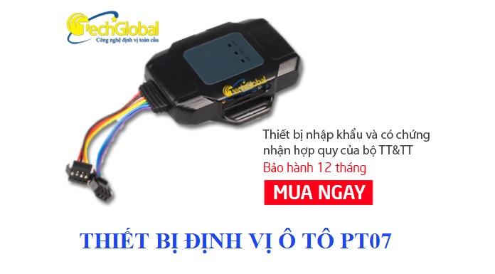 thiết bị định vị ô tô pt07