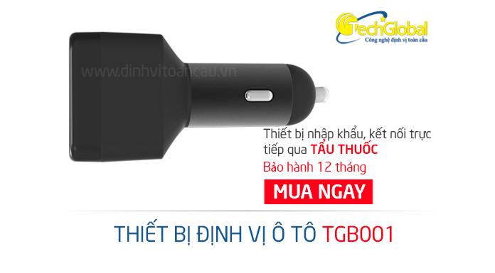 Thiết bị định vị ô tô TGB001 định vị bí mật