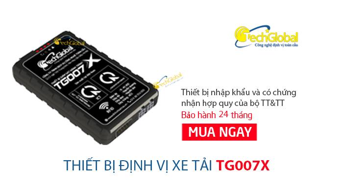 Thiết bị định vị xe tải TG007X chính hãng do Techglobal cung cấp